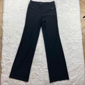 Nike Dri-Fit Long Navy Blue Yoga Pants
